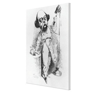 Gustave Flaubert  Dissecting Madame Bovary Canvas Print