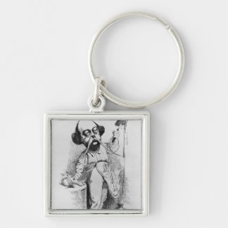 Gustave Flaubert  Dissecting Madame Bovary Keychain