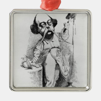 Gustave Flaubert  Dissecting Madame Bovary Metal Ornament