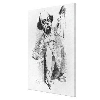 Gustave Flaubert que diseca a señora Bovary Lienzo Envuelto Para Galerias