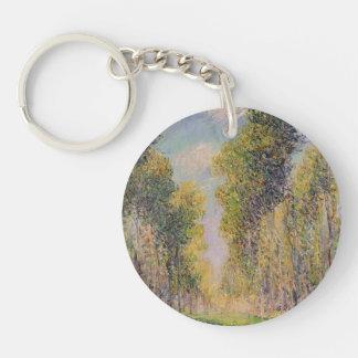 Gustave Loiseau- Alley of Poplars Keychain