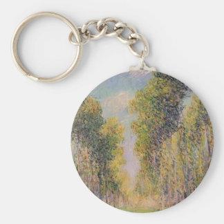 Gustave Loiseau- Alley of Poplars Keychains