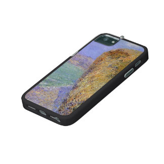 Gustave Loiseau- Cliffs at Grainval iPhone 5 Case