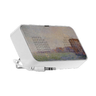 Gustave Loiseau- Cliffs by the Sea iPhone Speaker