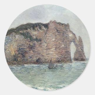 Gustave Loiseau- Etretat Stickers
