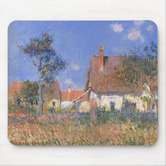 Gustave Loiseau- Houses in Normandy Mouse Pad