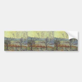 Gustave Loiseau- Landscape in Winter with Fog Bumper Sticker