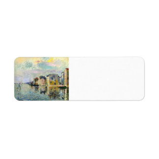 Gustave Loiseau- Martigues Return Address Labels