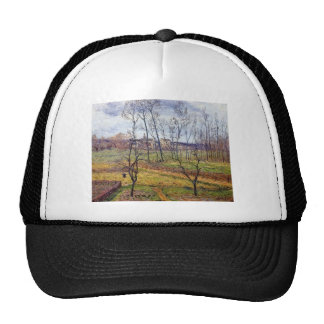 Gustave Loiseau- Overcast Weather at Nesles Vallee Trucker Hats