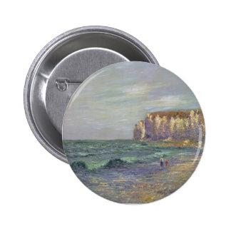 Gustave Loiseau- Petit Dalles at Normandy Pinback Buttons