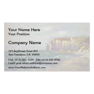 Gustave Loiseau- Petit Dalles at Normandy Double-Sided Standard Business Cards (Pack Of 100)