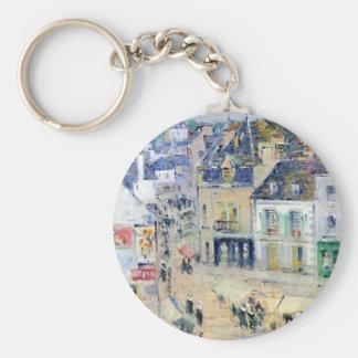 Gustave Loiseau- Pont Aven, Grey Weather Key Chains