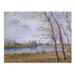 Gustave Loiseau- Port Pinche at Turn of the Seine Post Card