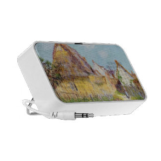 Gustave Loiseau- Thatched Cottage iPod Speaker