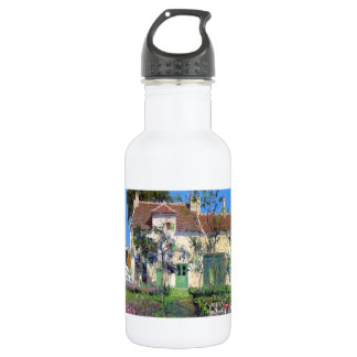 Gustave Loiseau- The Garden Behind the House 18oz Water Bottle