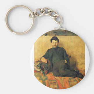 Gustave Lucien Dennery by Toulouse-Lautrec Keychain