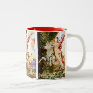 Gustave Moreau and Europa and the Bull Two-Tone Coffee Mug
