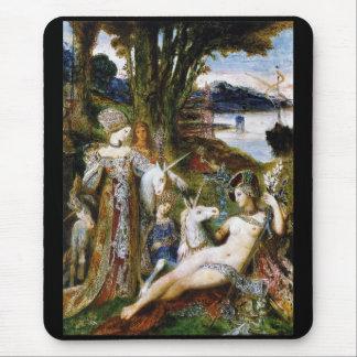 Gustave Moreau and unicorn Mouse Pad