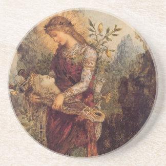 Gustave Moreau Art Drink Coaster