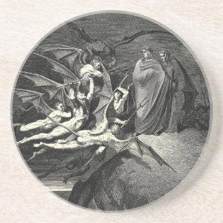 Gustave Moreau Art Sandstone Coaster