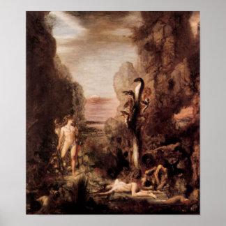 Gustave Moreau - Hércules y el Hydra Poster