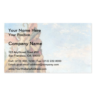 Gustave Moreau- Hesiod and the Muse Double-Sided Standard Business Cards (Pack Of 100)