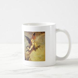 Gustave Moreau: La quimera Tazas
