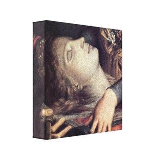 Gustave Moreau - mujer con la cabeza de Orfeo Impresiones De Lienzo