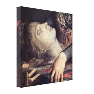 Gustave Moreau - mujer con la cabeza de Orfeo Impresion En Lona