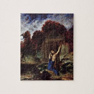 Gustave Moreau- Orpheus at the Tomb of Eurydice Jigsaw Puzzle