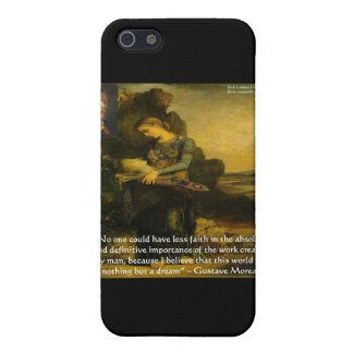 Gustave Moreau Orpheus & Quote Gifts & Tees Cover For iPhone SE/5/5s