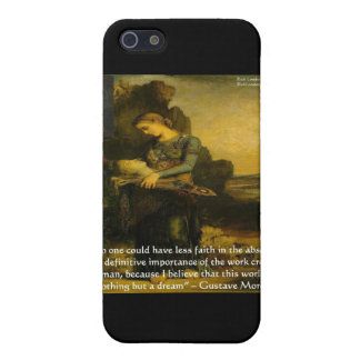 Gustave Moreau Orpheus & Quote Gifts & Tees iPhone SE/5/5s Cover