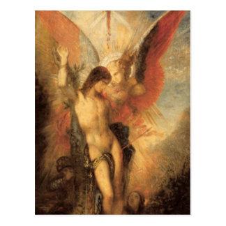 Gustave Moreau - Saint Sebastian and the Angel GC Postcard