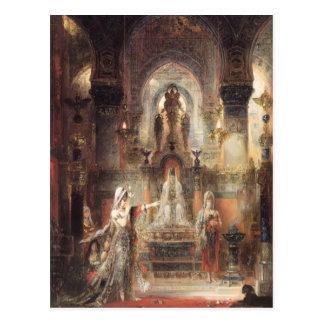 Gustave Moreau- Salome Dancing before Herod Postcard