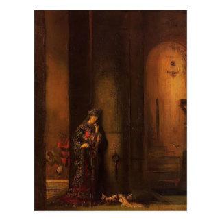 Gustave Moreau- Salome in Prison Postcard