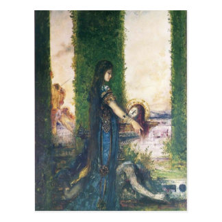 Gustave Moreau: Salome in the Garden Postcard