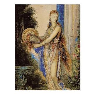 Gustave Moreau: Salome with Column Postcard
