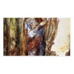 Gustave Moreau: Sátiros Plantilla De Tarjeta De Visita