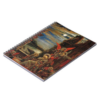 Gustave Moreau- St. Cecilia Notebook