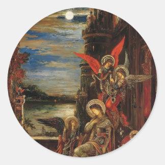 Gustave Moreau- St. Cecilia Sticker