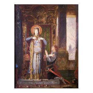 Gustave Moreau: St. Elisabeth de Hungría Postal