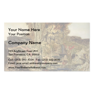 Gustave Moreau- The Pierides Business Card