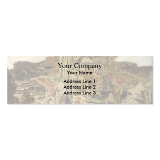 Gustave Moreau- The Pierides Business Cards