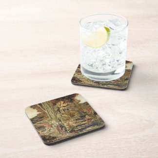 Gustave Moreau- The Pierides Drink Coaster