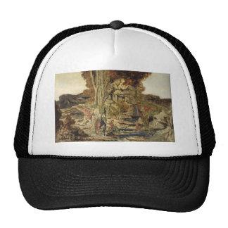 Gustave Moreau- The Pierides Mesh Hat