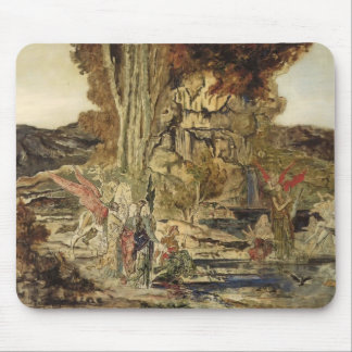 Gustave Moreau- The Pierides Mouse Pad