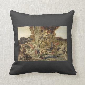 Gustave Moreau- The Pierides Pillows