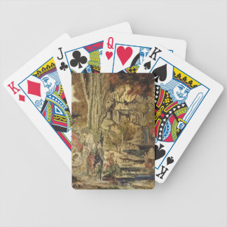 Gustave Moreau- The Pierides Bicycle Poker Cards