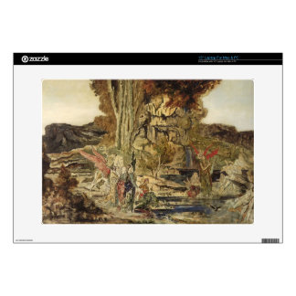 Gustave Moreau- The Pierides Skins For Laptops