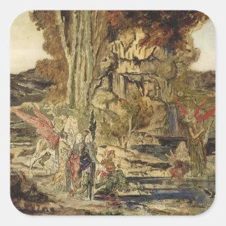 Gustave Moreau- The Pierides Sticker